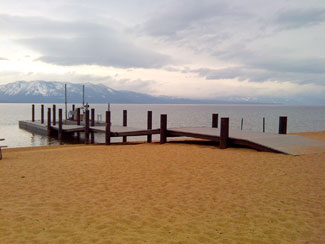 Custom made Pier in Lake Tahoe